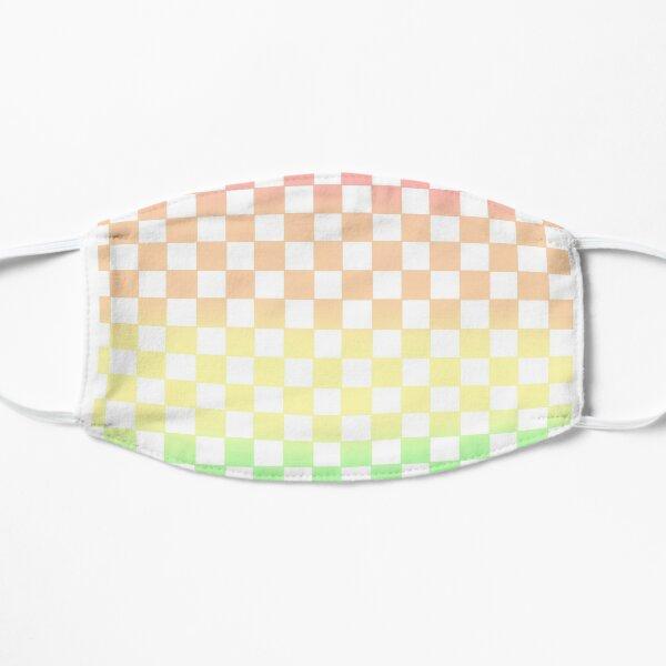 Rainbow checkboard Flat Mask