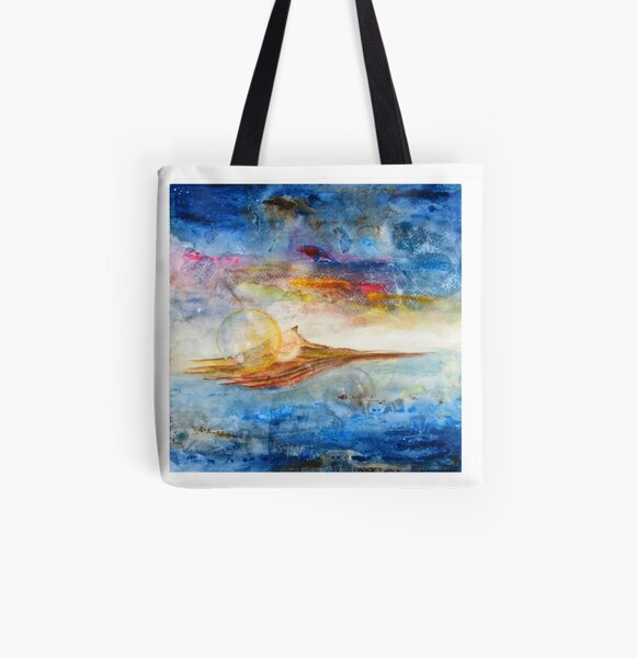 Transcontinental All Over Print Tote Bag