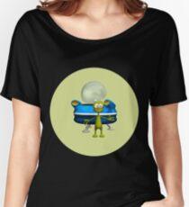Friendly Alien Women's Relaxed Fit T-Shirt