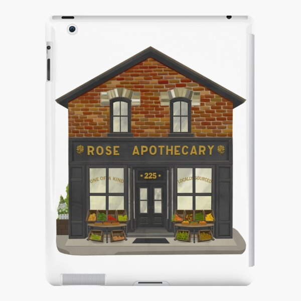 Rose Apothecary Illustration iPad Snap Case