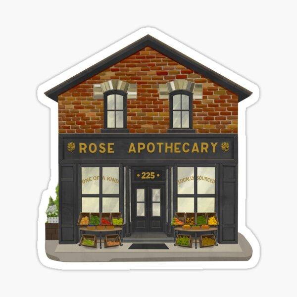 Rose Apothecary Illustration Sticker