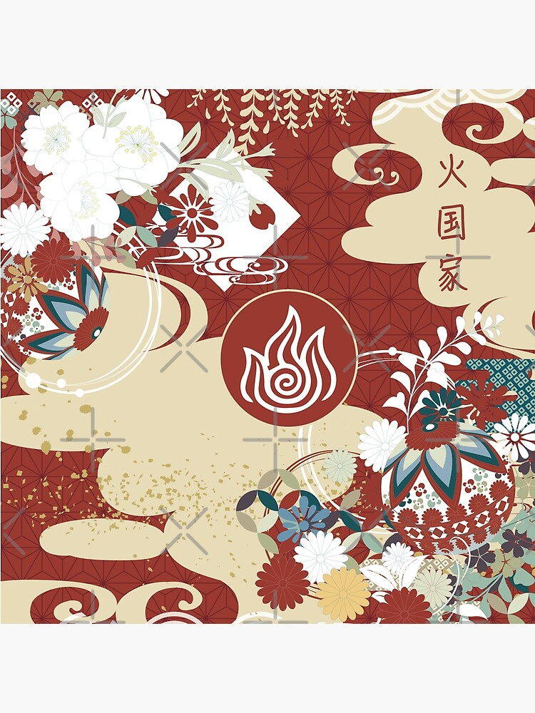Fire Nation Tapestry by spacesmuggler