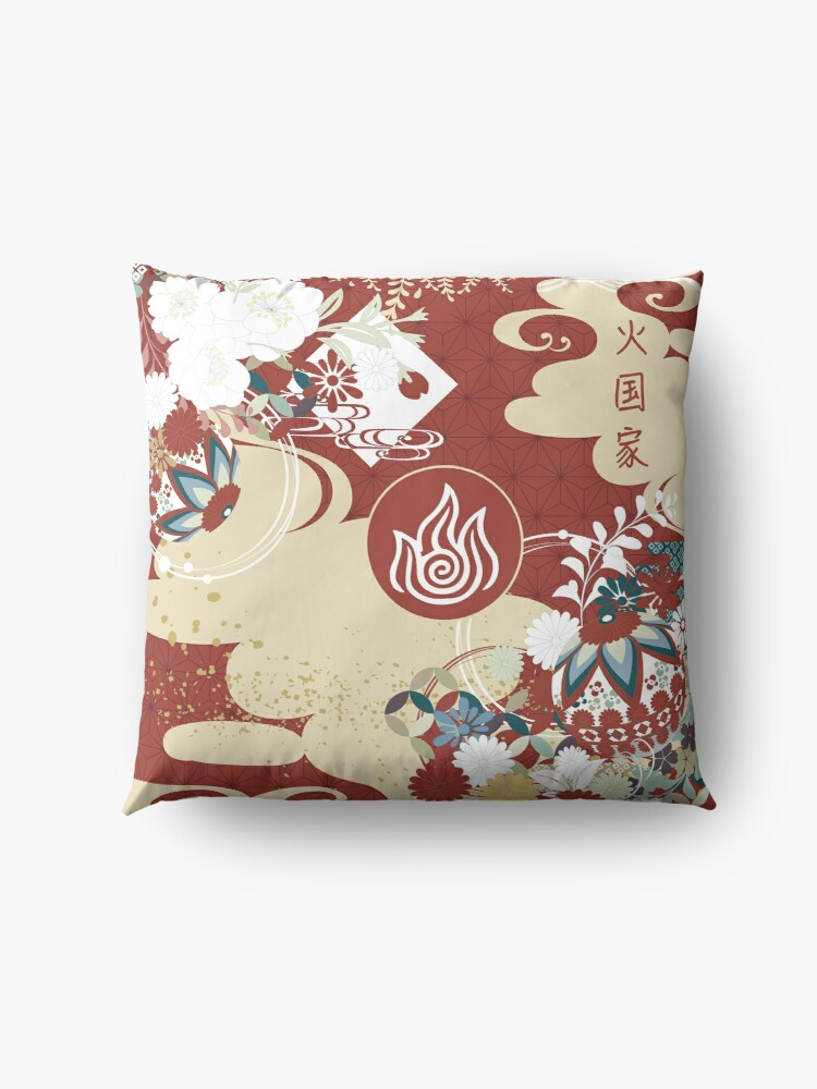 Alternate view of Fire Nation Tapestry Floor Pillow