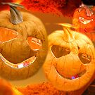 Halloween pumpkin smile  by Valxart