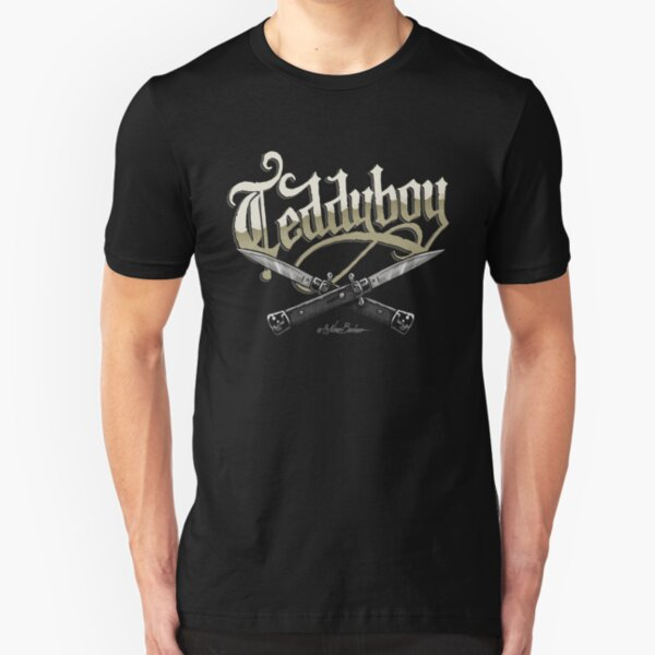 Teddy Boy Camiseta ajustada