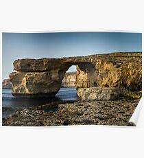 The Azure Window, Malta Poster