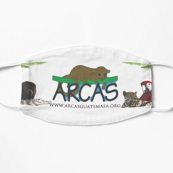 ARCAS logo Banner Flat Mask
