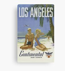 Vintage poster - Los Angeles Canvas Print
