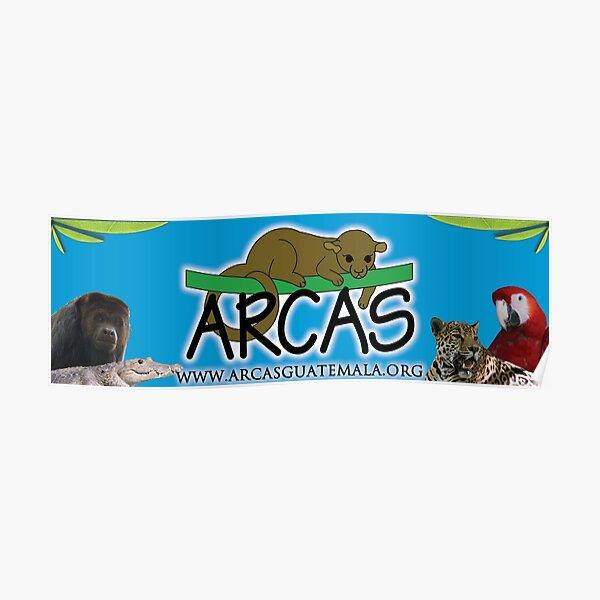 ARCAS Sticker blue Poster