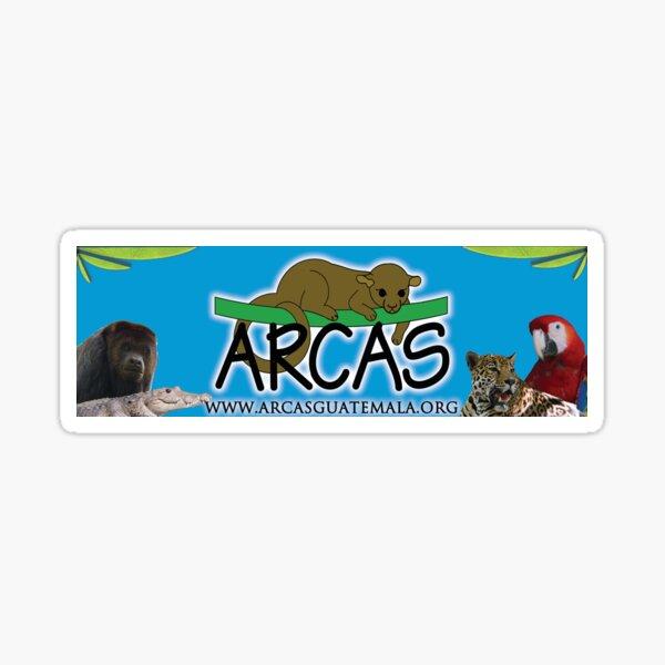 ARCAS Sticker blue Sticker