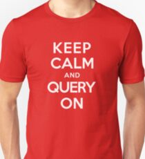 Query On Unisex T-Shirt