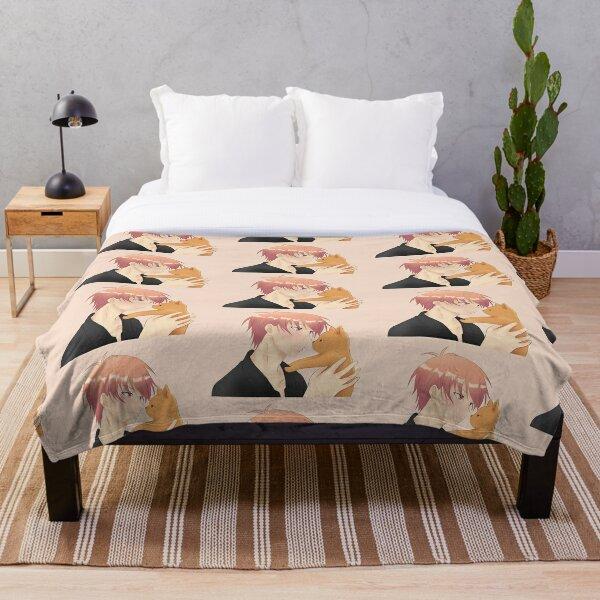 Kyo Cat Throw Blanket