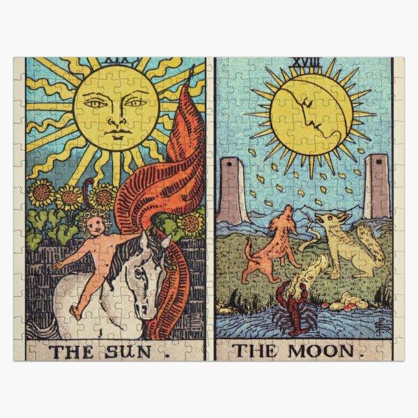 Moon & Sun Tarot | Colour Jigsaw Puzzle
