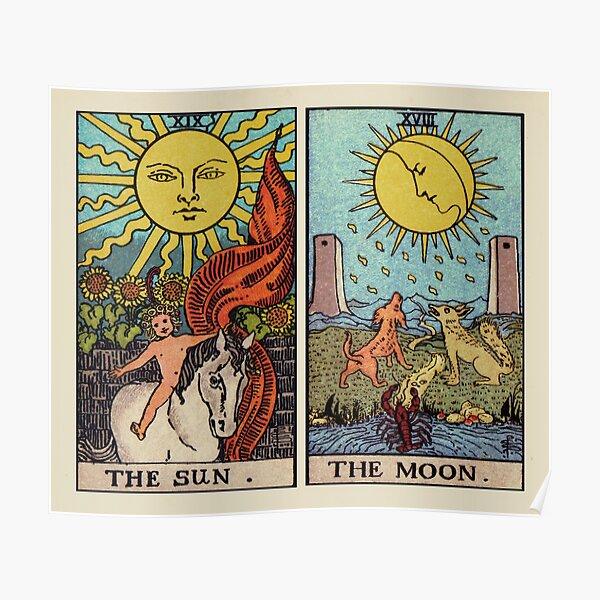 Moon & Sun Tarot | Colour Poster