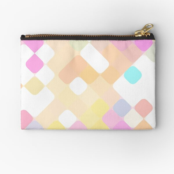 rhombus fantasy spotted colors Zipper Pouch