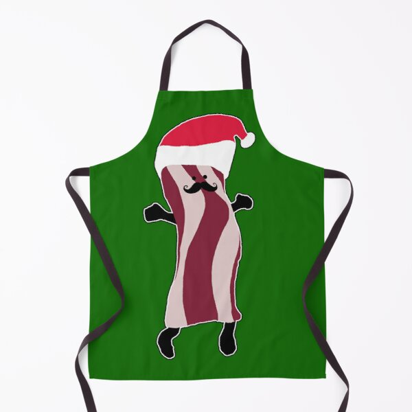 Santa Bacon Apron