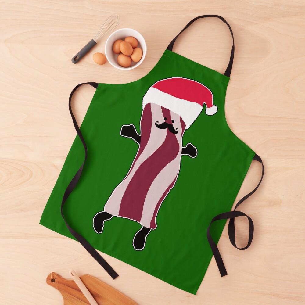 Santa Bacon Apron