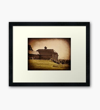 Natural Farming Framed Print