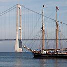 Great Belt Bridge and Britta by imagic
