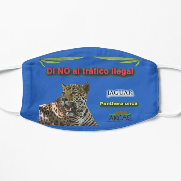 Say no to illegal traffic; jaguar Flat Mask