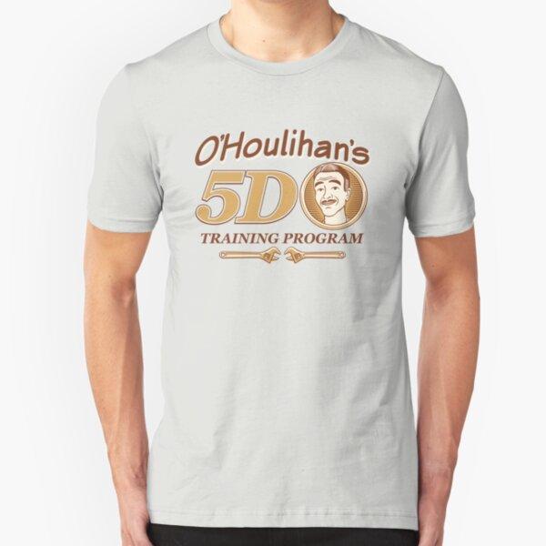 O'Houlihan's 5D Training Program - Dark Slim Fit T-Shirt