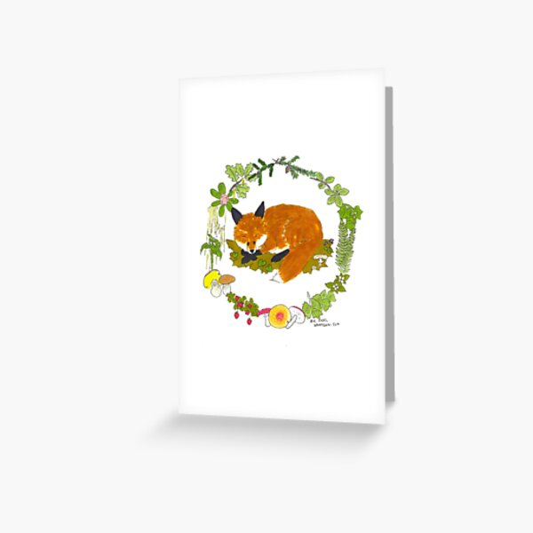 Just the Fox, Ma'am Greeting Card