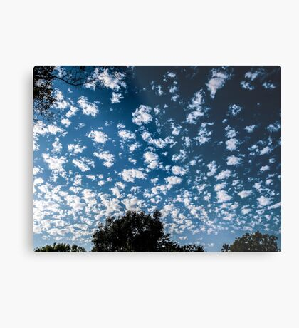 Magnificent Sky and Clouds No 2 Metal Print
