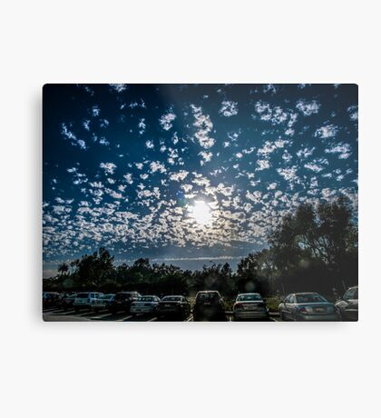 Magnificent Sky and Clouds No 4 Metal Print