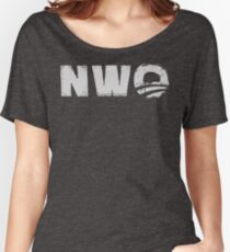 NWO - New World Order parody  Women's Relaxed Fit T-Shirt