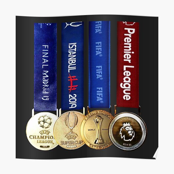Liverpool medals  Poster