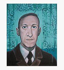 HP Lovecraft second portrait Photographic Print