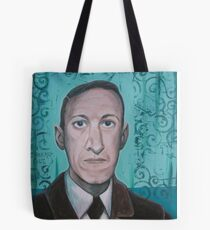 HP Lovecraft second portrait Tote Bag