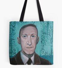 HP Lovecraft second portrait Tote Bag
