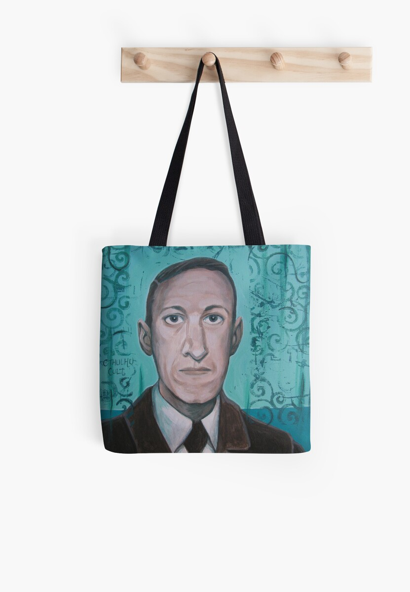 HP Lovecraft second portrait by aglastudio