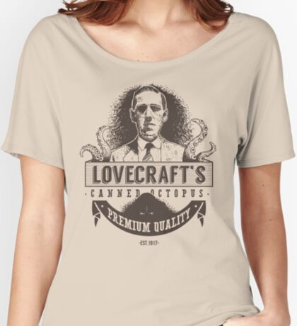 Lovecraft's Canned Octopus Women's Relaxed Fit T-Shirt