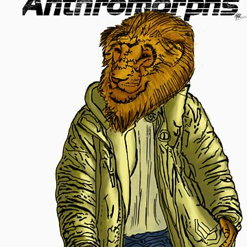 Anthromorphs Lion by draon