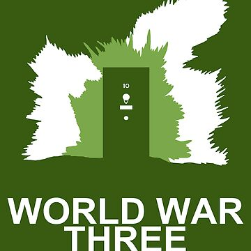 Minimalist 'World War Three' Poster by Abboz