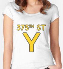 375th Street Y - Royal Tenenbaums Tshirt Women's Fitted Scoop T-Shirt