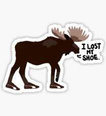"Sam Winchester - Supernatural - ""I lost my shoe"" Sticker"