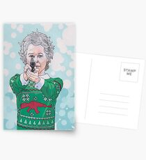 Christmas Carol Postcards
