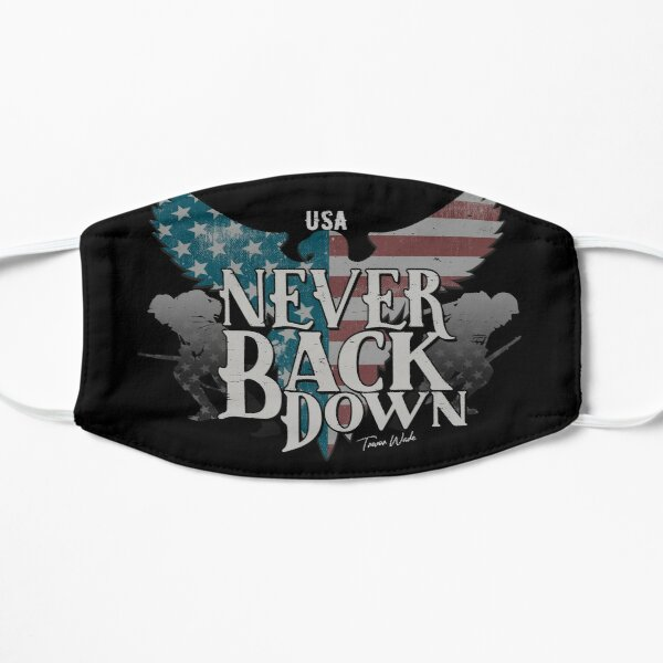 Never Back Down Mask