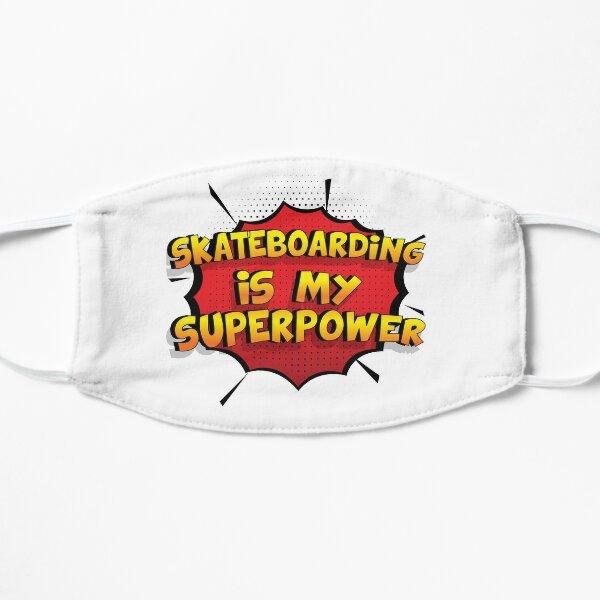 Skateboarding est mon cadeau super design Skateboarding dr�le Masque sans plis