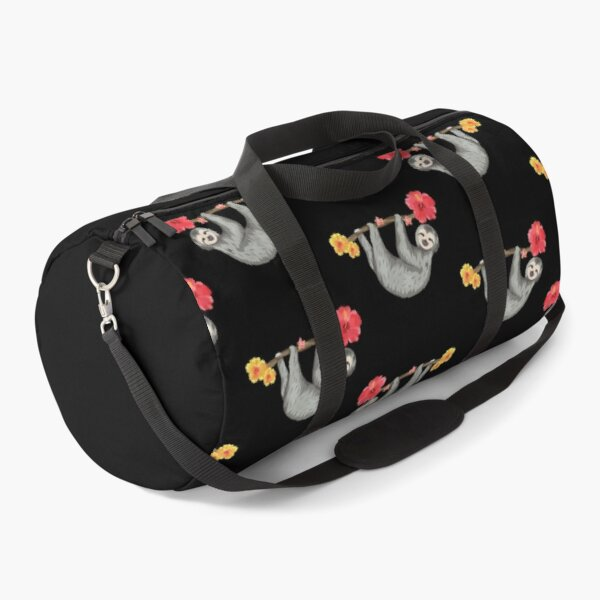 Sloth Chillin Pattern Duffle Bag