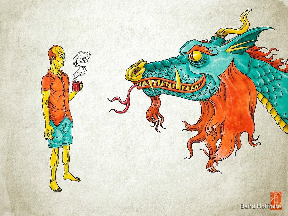 Morning Dragon by Baird Hoffmire