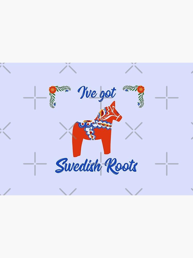 I ve got Swedish roots  Red Swedish dala horse by MimieTrouvetou