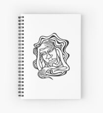 Thoughtful Inactivity Spiral Notebook