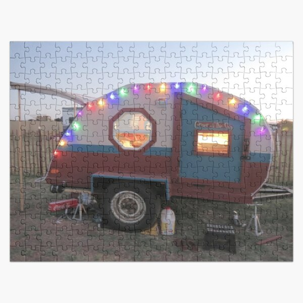 Teardrop with lights Jigsaw Puzzle