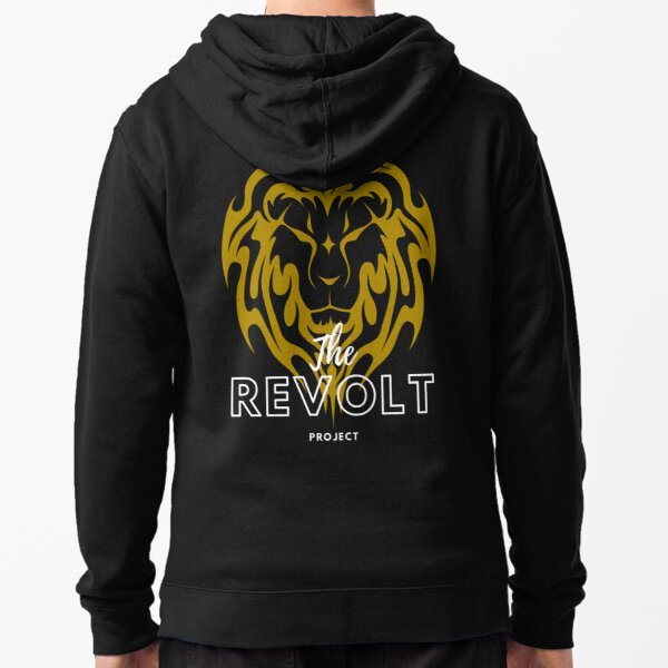 The Revolt Project Zipped Hoodie