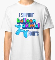 Support Balloon Animal Rights Classic T-Shirt