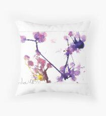 CherryBlossom Throw Pillow